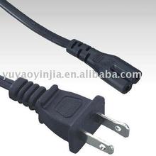 Flat flex cable UL Power Supply cord (Nema 1-15p) to IEC 60320 C7