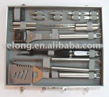 17pcs BBQ tool Set