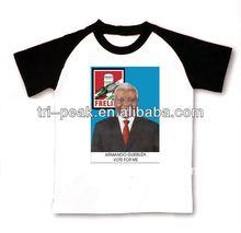 customized president election promotion t-shirt