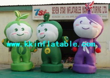 2013 inflatable cartoon character for kids
