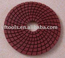 Diamond flexiblade polish pads