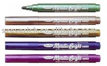 metallic marker