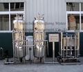 Tratamento de água mineral de plantas 5000 litros/ hora