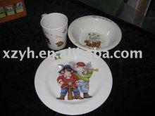 Melamine Children Dinner Set