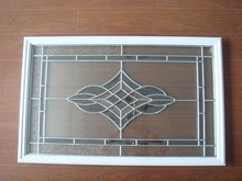 triple decorative glass with frame