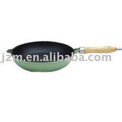 skillet / wooden handle