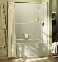 BATHTUB AND SHOWER COMBINATIONS BATHTUB SHOWER