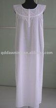 Ladies' Embroidery Sleepwear,Nightgown,Nightwear