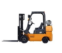 Cushion tire power forklift