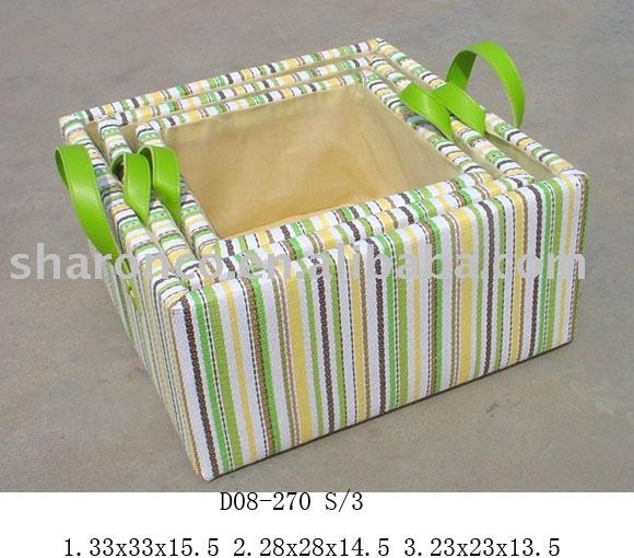 Paper Basket Design Storage Basket Made of Paper