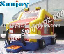 Sunjoy factory price bouncy castle car bounce