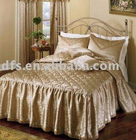 3 pcs polyester jacquard matelass couvre lit ensemble literie id du produit - Couvre lit polyester ...