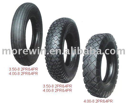 Carrinho de mão pneu