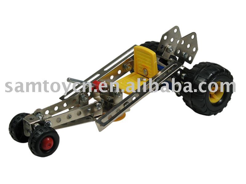 DIY Metal Car Toy/Child Metal Building Block Toys/Self-assembling Game ...