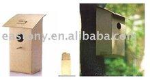 Paper Carton Birdhouse, Foldable Bird House ET-485084
