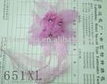 10cm fios artesanais decorativas de cabelo flor broche