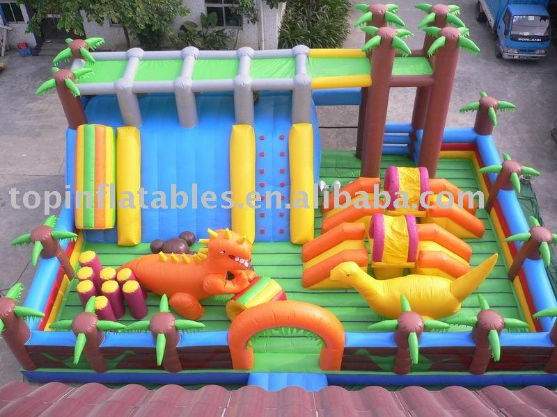 Inflatable fun city/ Jurassic Park