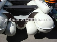 INFLATABLE racing BOAT