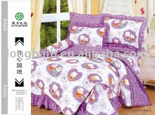 With different color100% polyester Bedding Set