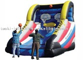 inflatable sports, inflatable shooting game , inflatable basketball shooting