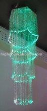 Fiber optic pendant light