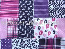 cotton flannel / cotton fabric/ patchwork