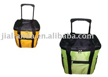 Trolley Cooler Bag ( cooler bag, wheeled bag, insulated trolley bag )