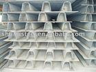 bridge U shaped strengthening opening coastal(rib)steel profile