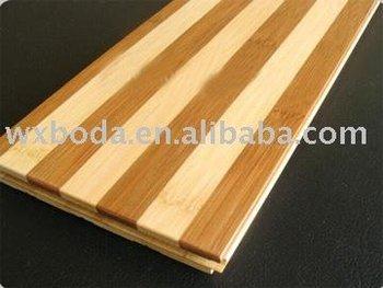 Tiger-stripe bamboo flooring
