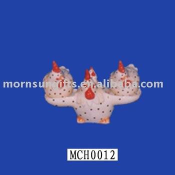 chick ceramic cruet