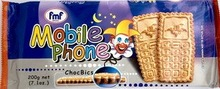 Mobile Phone Chocbics Cookies