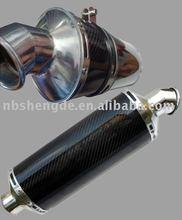carbon fiber motorcycle muffler