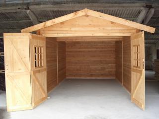 Madeira garagem, Veron modelo