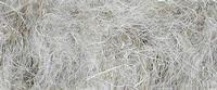 Cottonised flax fiber