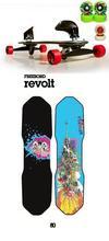 skateboard Revolt80 Freebord paket S2