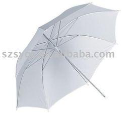 "White Soft Umbrella 33""/umbrella diffuser"