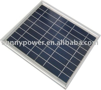 SPM12-P solar panel with CE and TUV certificate