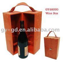 Velvet Wine Carrier