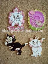 Custom lovable animal pin,cat pin badge,monkey pin