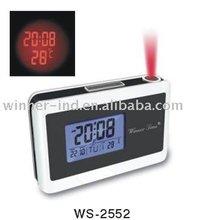 Projection LCD digital clock
