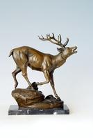AL-123 bronze deer statue deer sculpture sculpture animal