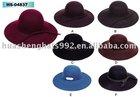 Ladies Hat Felt Hat/wool floppy hat/ladies wool felt floppy hat