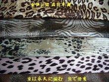 Printed satin (silk crepe satin)
