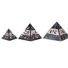 Basalt pyramids set