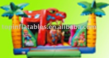 jungle inflatable fun city, inflatable bouncer castle