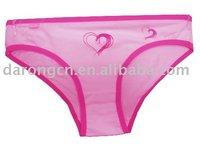 Ladies' briefs,100% cotton lady's panties,lady's shorts,underwear