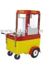 Gas Popcorn Cart
