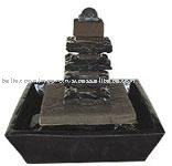 Pagoda Fountain with Lava Stone
