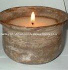 Terracota Pot Candle