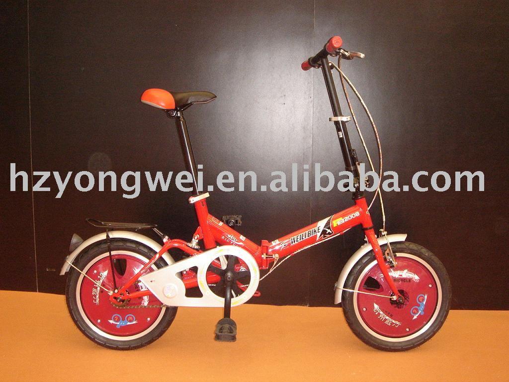 """De china de la bicicleta / plegable / 16 """" plegable de la suspensión de la bicicleta"""